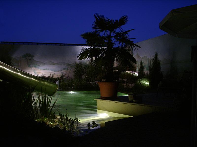 Schwimmteich Beleuchtung | Schwimmteich Badeteich Gestaltungsmoglichkeiten Acqua Dolce